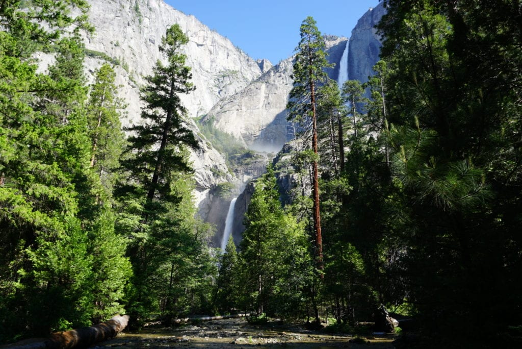 Upper & Lower Yosemite Falls in Yosemite National Park