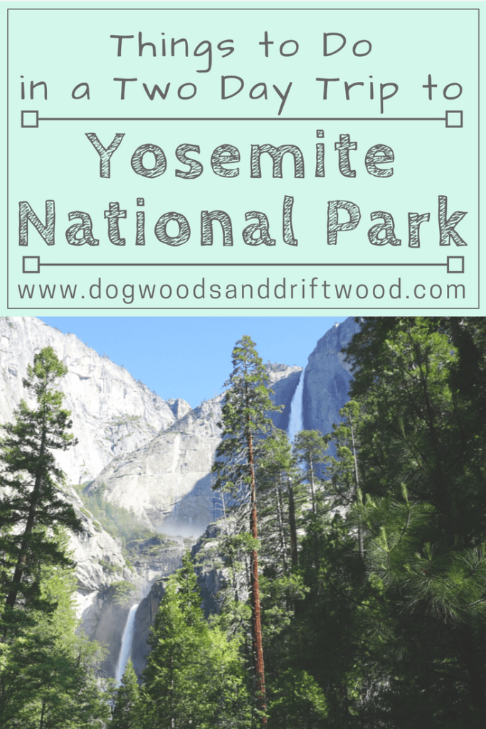 How to visit Yosemite National Park in TWO Days! #yosemite #nationalpark