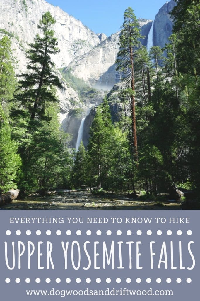 Your ULTIMATE Guide to Hiking Upper Yosemite Falls: Everything You Need to Know! #yosemite #yosemitefalls #hiking #nationalpark