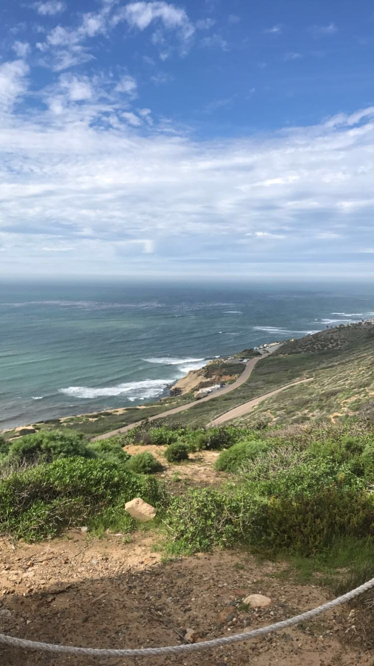 View from the top of Cabrillo National Monument