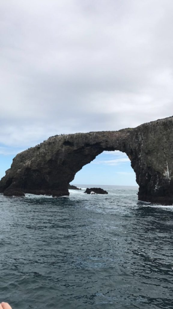 Arch Rock at Anacapa Island in Channel Islands National Park