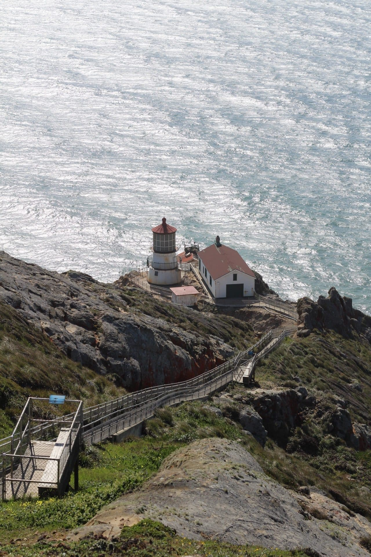 Point Reyes Lighthouse at Point Reyes National Seashore, California