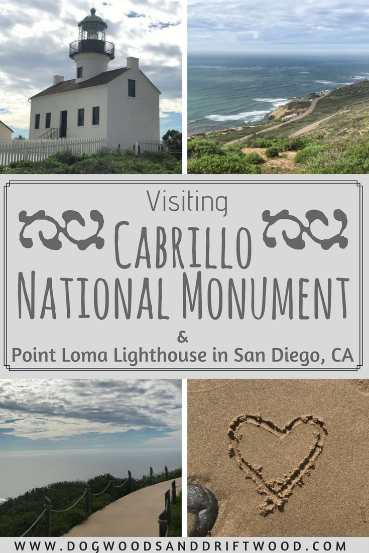 Visiting Cabrillo National Monument & Point Loma Lighthouse in San Diego, California! #cabrillo #lighthouse #pointloma #tidepools #sandiego