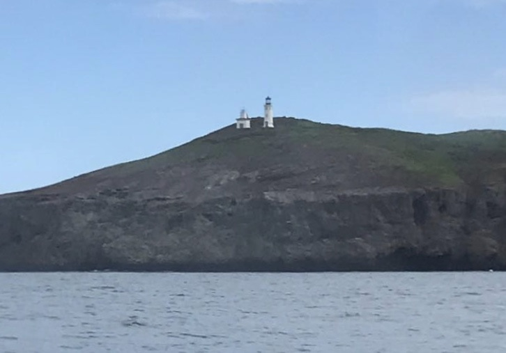 Lighthouse on Anacapa Island in Channel Islands National Park