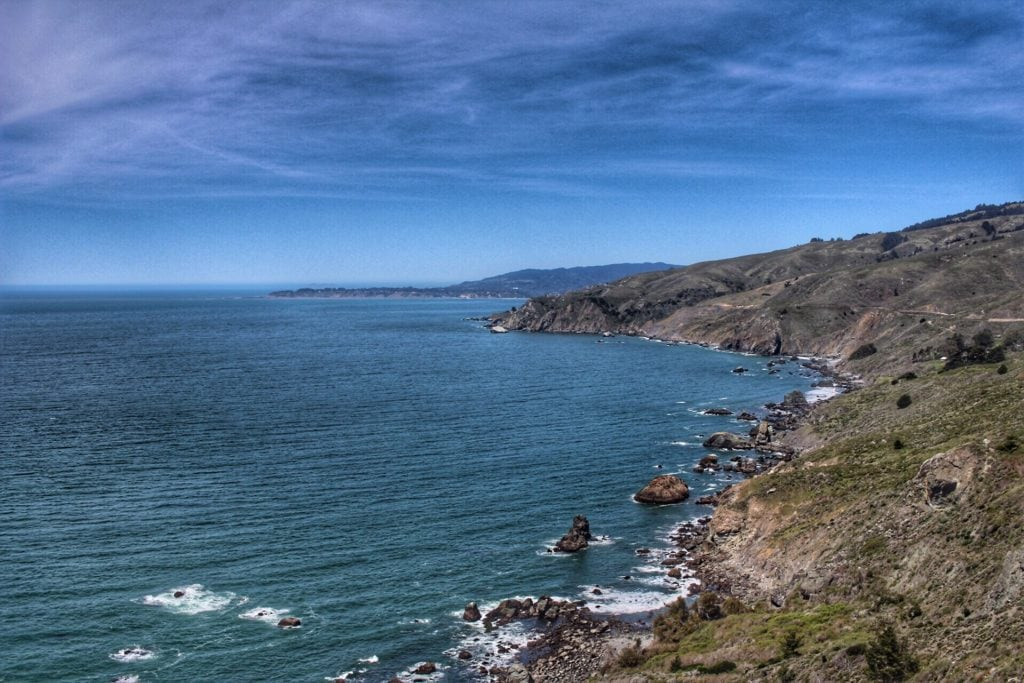 Muir Beach Overlook.