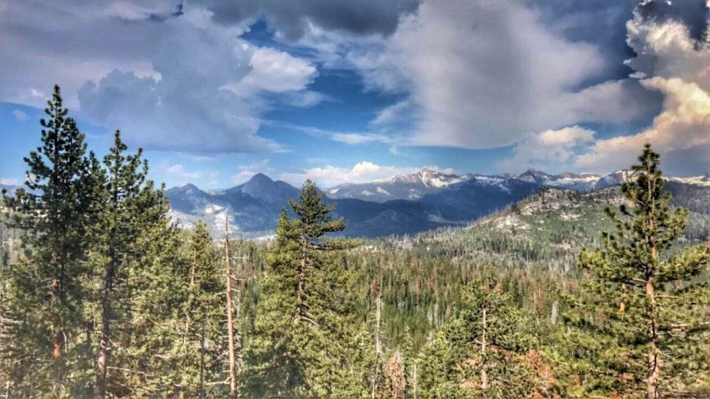 View from Glacier Point in Yosemite National Park