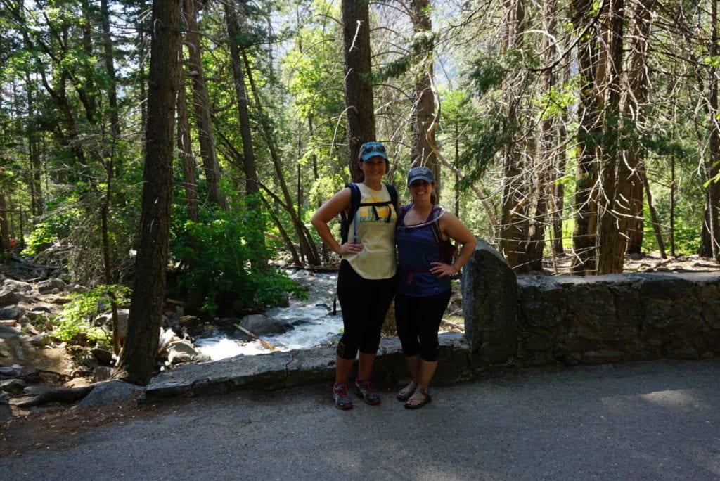 Bridalviel Falls Trail in Yosemite National Park