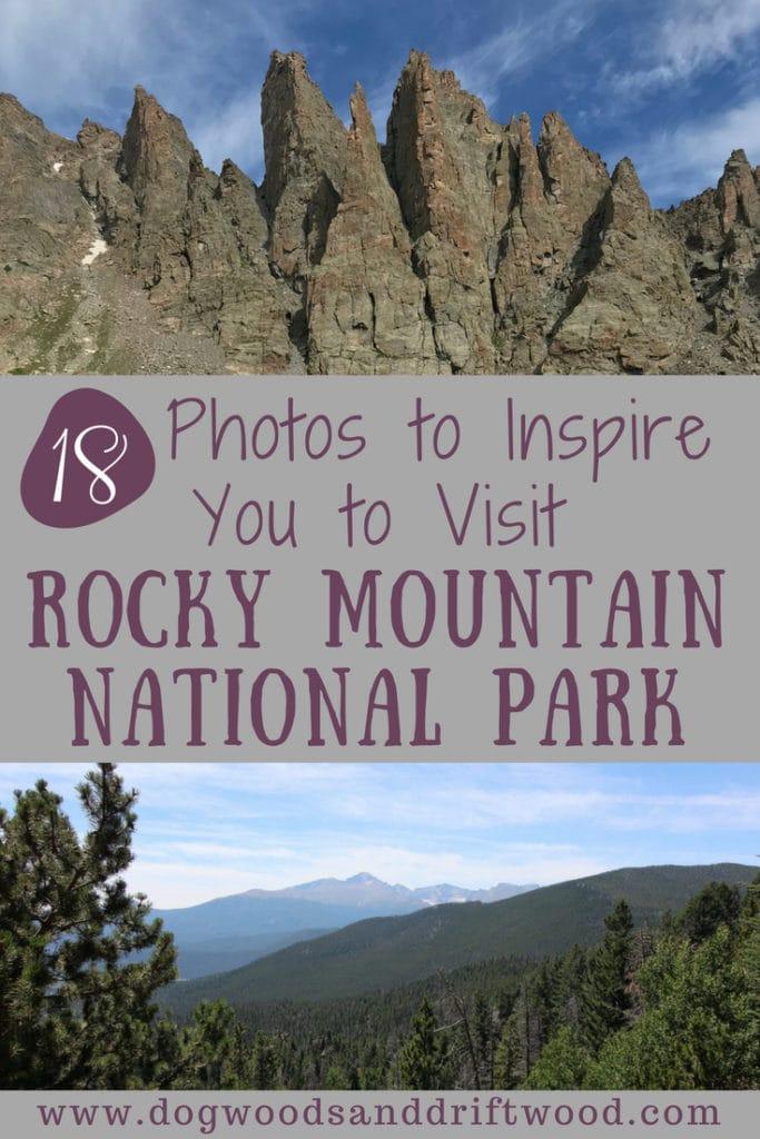 18 Inspiring photos of Rocky Mountain National Park: Bear Lake, Sky Pond, hiking trails, lakes, waterfalls, etc! #rockymountains #nationalpark #skypond #bearlake #dreamlake #hiking #hikingtrails