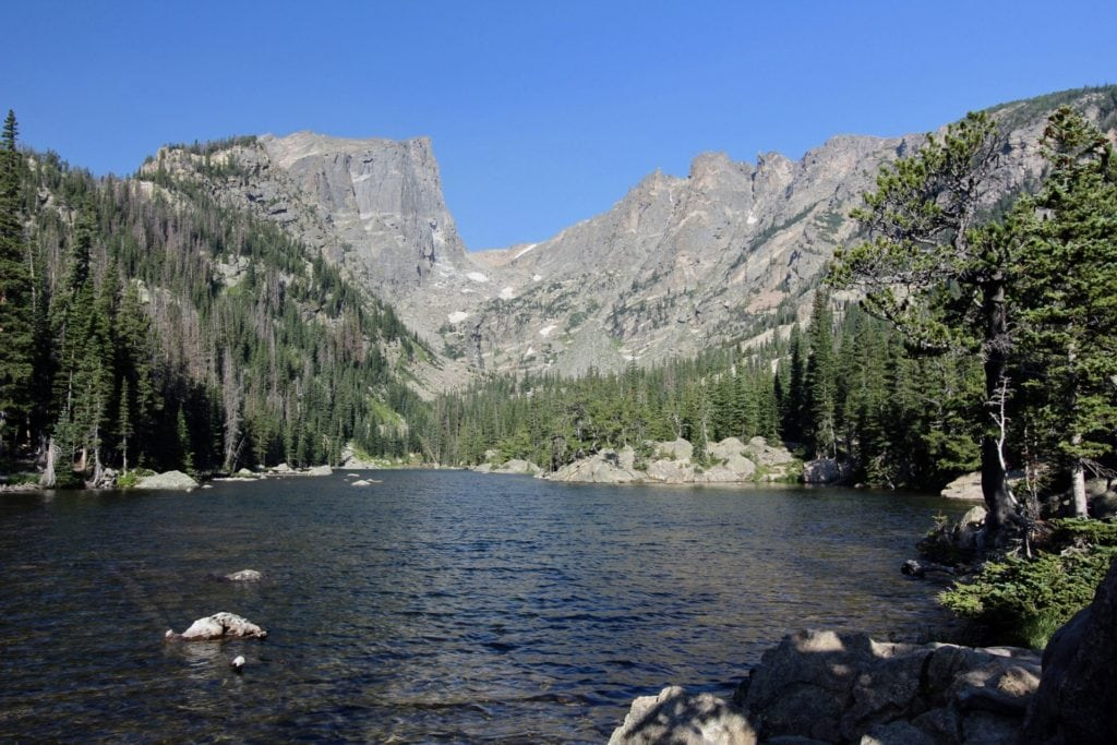 Dream Lake Rocky Mountain National Park