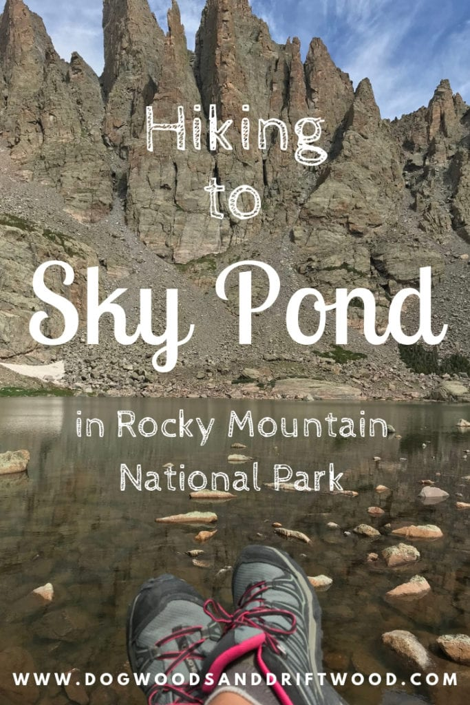 Hiking to Sky Pond in Rocky Mountain National Park in Colorado! P.S- You must climb up the side of a waterfall to get to Sky Pond! #skypond