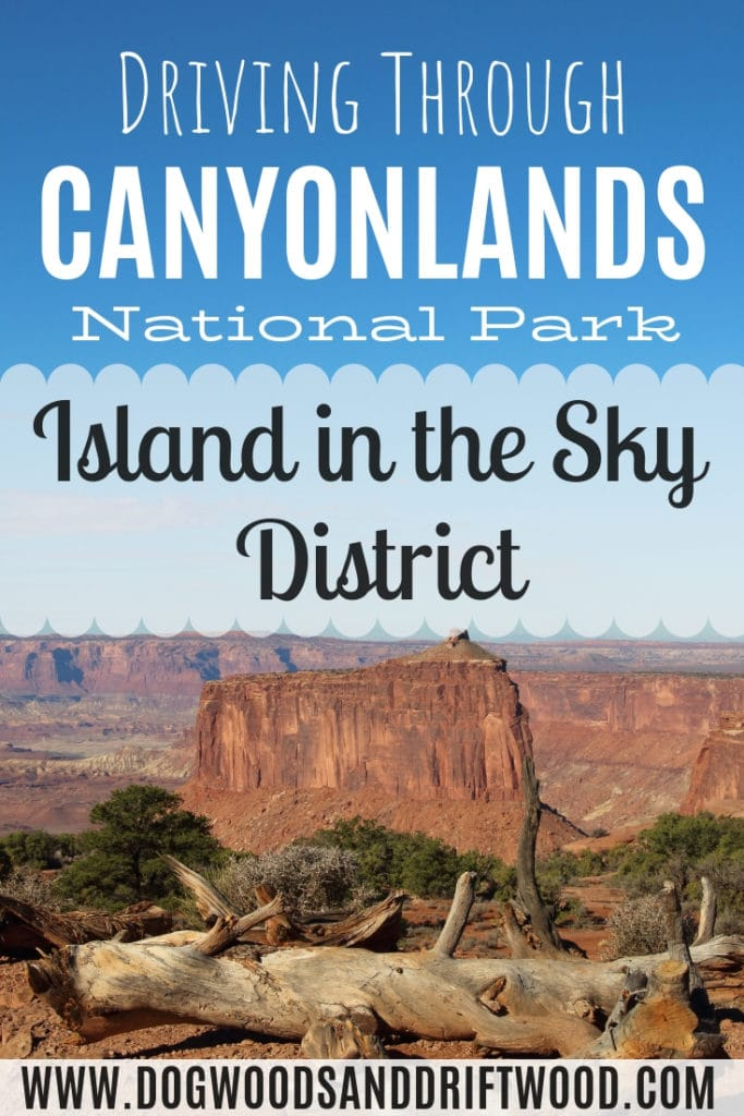Driving through the Island in the Sky District of Canyonlands National Park, Utah! Visit scenic viewpoints, hike some trails, see Mesa Arch & beautiful landscapes!