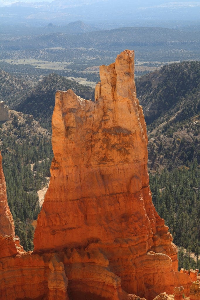 Hoodoo in Bryce Canyon National Park, Utah