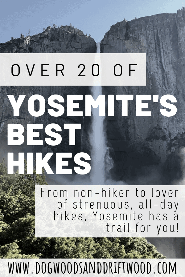20+ best hikes in yosemite