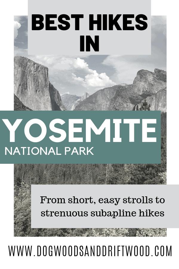 best hikes in Yosemite