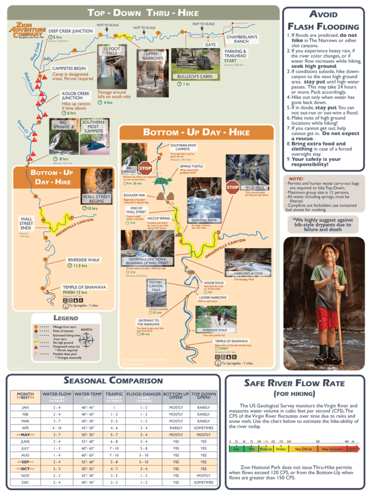Zion Adventure Company Brochure